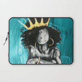 Naturally Queen IX TEAL Laptop Sleeve