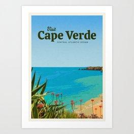 Visit Cape Verde Art Print