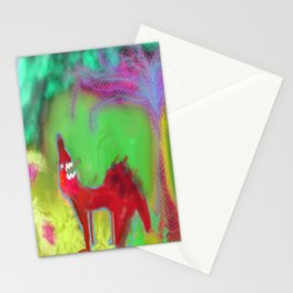 Dog Howling by 'Mickeys Art And Design' Stationery Cards