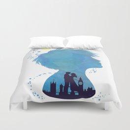 I am Finding Neverland Duvet Cover