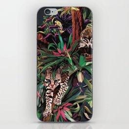 Rainforest corner iPhone Skin