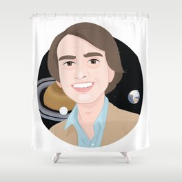 Carl and the Space Shower Curtain