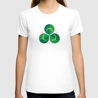clover T-shirts featuring White Clover by Christopher Dina