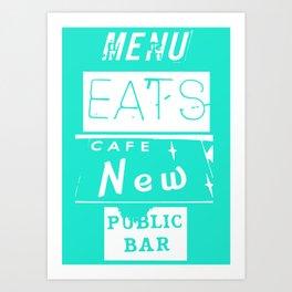 EATS Art Print