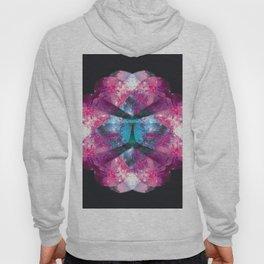 galaxy floral Hoody