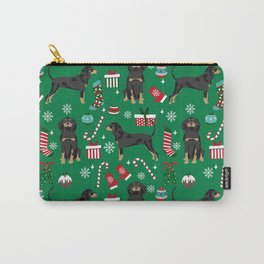 Coonhound dog breed christmas gifts dog lovers pet friendly holiday Carry-All Pouch