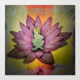 Florecer Canvas Print