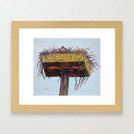 Can you see me now Framed Art Print