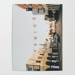 venice / los angeles, california Poster