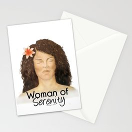 Woman of Serenity Stationery Cards
