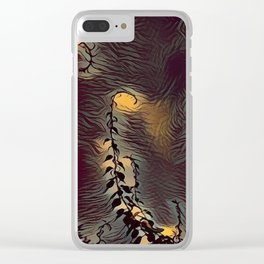 Abstract Sky Clear iPhone Case