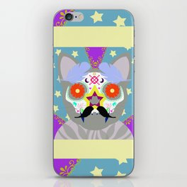 Day of the Cat iPhone Skin