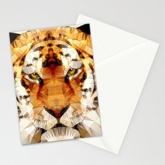 abstract tiger Stationery Cards