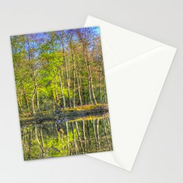 The Pond Reflections  Stationery Cards