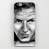 frank sinatra iPhone & iPod Skins featuring Frank Sinatra by Robin Ewers