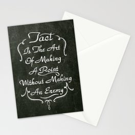 Lettering 001 Stationery Cards