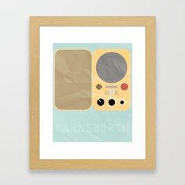 Farnsworth Framed Art Print