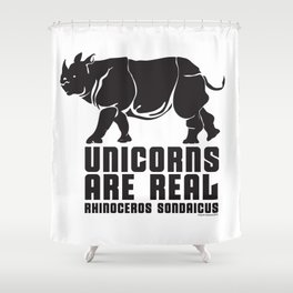 Unicorns Are Real 3 Shower Curtain