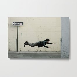 Sometimes, it's good to be different. Metal Print