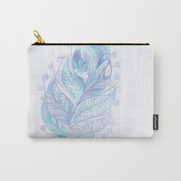 Ocean Feather Carry-All Pouch