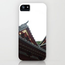 Temple Tops iPhone Case