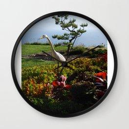 Master of the Garden  Wall Clock