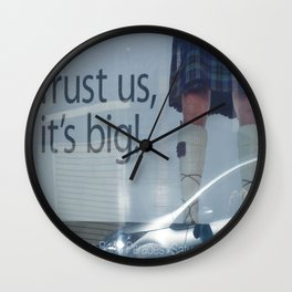 Trust Is Everything Wall Clock