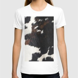 Cowhide Farmhouse Decor T-shirt