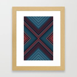 Gas Tubes Framed Art Print