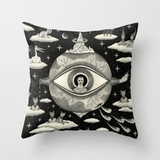 Some Sort of Mystical Explanation Throw Pillow