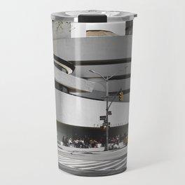 Guggenheim   Frank Gehry   architect Travel Mug