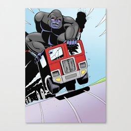 trukk vs munky Canvas Print