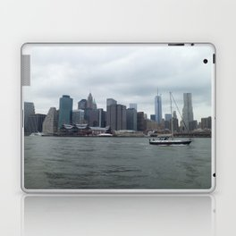 Nyc Skyline Hudson River Laptop & iPad Skin