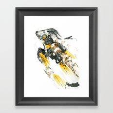 Cult of the Fast Machine Framed Art Print