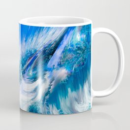 Rapture In Blue   Abstract Coffee Mug