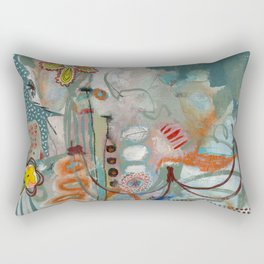 Not so Green Thumb Rectangular Pillow