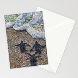 Loggerhead Sea Turtles Stationery Cards