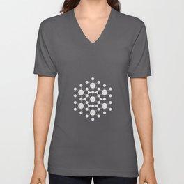 flower of life, alien crop circle, sacred geometry Unisex V-Neck