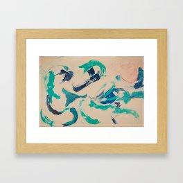 Dolphin Dance Framed Art Print