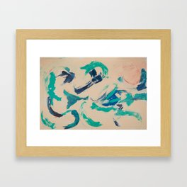 Dolphin Dance Framed Art Print