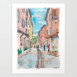 Briançon Art Print