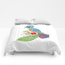 The Blue Quetzal Comforters