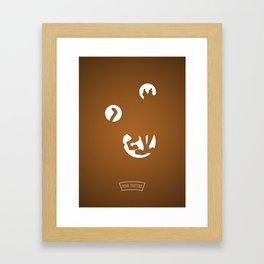 S..... ..O Framed Art Print
