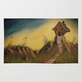 Whimsical Cabin Rug
