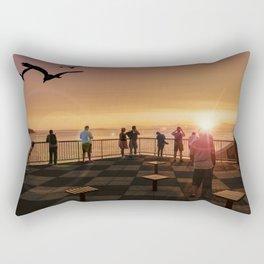 Elliott Bay Rays Rectangular Pillow