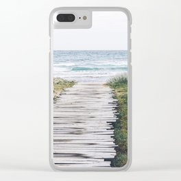 Good Tidings Clear iPhone Case