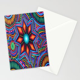 QUYLUUR INDIAN PAINTING Stationery Cards
