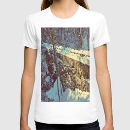 Vaughan's Woods Bridge in Winter T-shirt