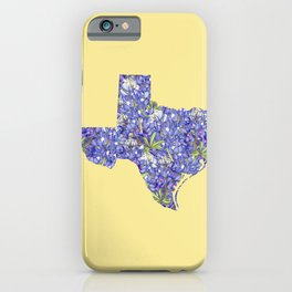 Texas in Flowers iPhone Case