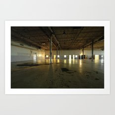 Factory Floor Art Print